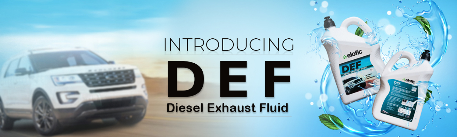 Introducing Elofic DEF to reduce emission and enhance engine performance